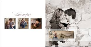 engagement photo album engagement signature album featuring akron session