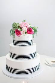 navy and white striped ribbon pink navy winter wedding wedding cakes wedding cake and navy