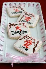 japanese geisha decorated sugar cookies by sugarlanebakeshop