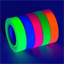 blacklight party supplies 5 pack bright uv blacklight reactive fluorescent