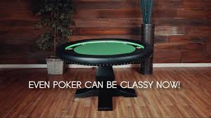 the ginza led round poker table by bbo poker tables youtube