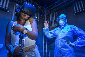 themes of halloween horror nights first look virtual reality of repository at halloween horror