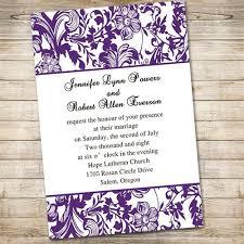 purple wedding invitations 59 best purple wedding invitations images on purple