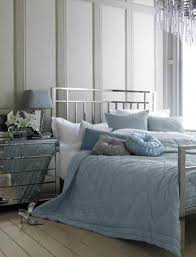 20 beautiful blue and gray bedrooms interior design
