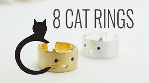 small halloween gifts gifts for cat lovers the cat ring birthday gifts for her youtube