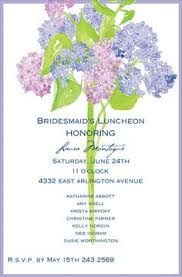 bridesmaid luncheon invitation 10 bridal luncheon invitations with envelopes free return address