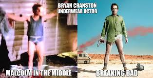 Bryan Cranston Memes - bryan cranston underwear actor imgur