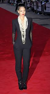 rihanna jumpsuit jumpsuit and pearls rihanna my style jumpsuits