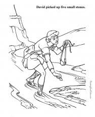 david and saul in cave coloring page u2014 david dror