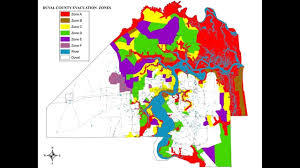 Central Florida Zip Code Map by Duval County Evacuation Map