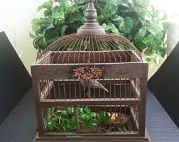 Birdcage Decor For Sale Decorative Bird Cage Etsy