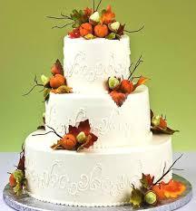 wedding cake harvest fall themed wedding cakes best of cake
