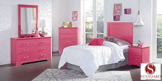 Pink Bed Frames True Pink Bedroom Collection Efw Bedroom Furniture Store