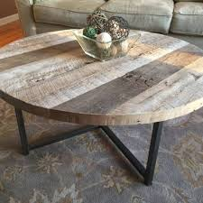 round wood and metal end table wood coffee table dosgildas com
