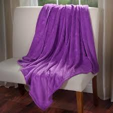 everyday home soft velvet fleece throw blanket walmart