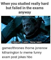 Lost Memes Tv - when you studied really hard but failed in the exams anyway