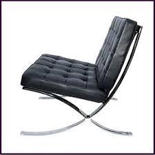 Barcelona Style Sofa Black Leather Sofa Chair With Chrome Legs My Style Pinterest