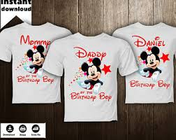 mickey mouse birthday shirt mickey mouse shirt etsy