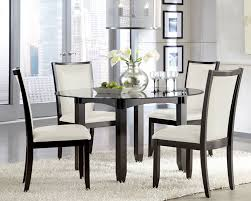 Dining Table Round Glass Dining Table And Chairs Pythonet Home - Glass for kitchen table