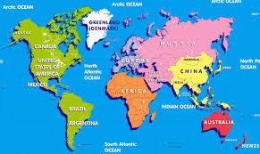 Australia On A World Map by Map Of China For Kids U2013 Itfa