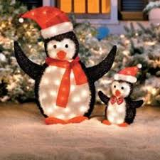 outdoor decorations penguins сhristmas day special