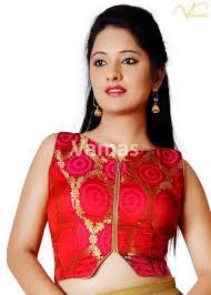 open blouse vamas bandhani front open blouse lb 36