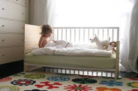 Converting Crib To Toddler Bed Diy Crib Conversion Into A Mini Daybed Toddler Bed Make