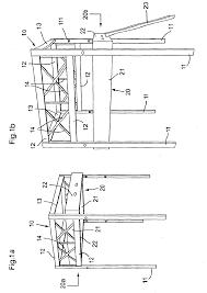 Lit Escamotable Plafond Patent Ep1516567b1 Lit Escamotable En Mezzanine Google Patents