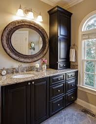 Home Decorators Collection Mirrors by Bathroom Wall Mirror And Oval With Lights Brown Tilting S