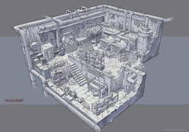 artstation utopia game boiler room concept anastasia shiyankova