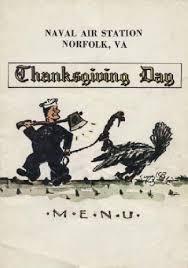 naval air station norfolk virginia 1958 thanksgiving dinner