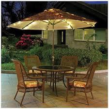 charming led patio umbrella corliving patio umbrella with solar