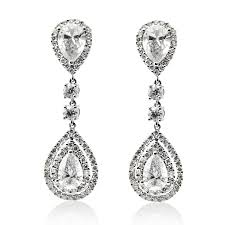 dimond drop diamond drop earrings pastal names