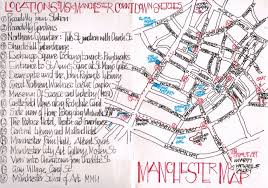 La Jolla Map Countdown To Uskmanchester2016 Map Of Sketch Locations Urban