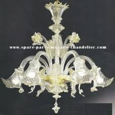 Murano Chandeliers Murano Chandeliers Crystal And Murano Glass Spare Parts Spare