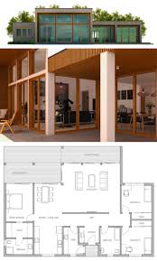 Floor Plans Small House 439 Best Casas Images On Pinterest Homes Small Houses And