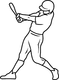 draw baseball coloring page 78 in free coloring book with baseball