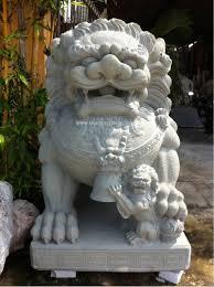 marble foo dogs marble foo dog statue carvings fudog sang3 2013