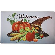 custom thanksgiving turkey day doormats cover non slip