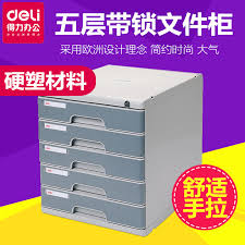 Desktop Filing Cabinet Buy Deli Deli 9755 Five Lockable File Cabinet File Cabinet 5