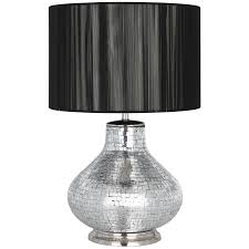 Mosaic Table Lamp Silver Mosaic Table Lamp Base