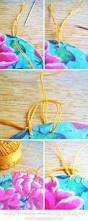 how to crochet a glorious paper garland for your walls heart