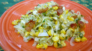 thanksgiving corn side dishes for love of the table cabbage with sweet corn u0026 bacon