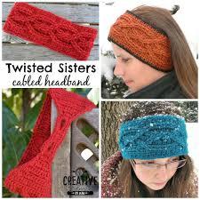 crochet headband free crochet headband pattern twisted cre8tion crochet