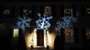 Christmas Light Projector by Outdoor Led Snowflake Christmas Light Projector With Remote