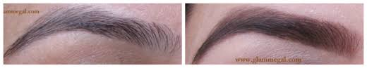 How To Color In Eyebrows How To Fill Eyebrows With Eyeshadow Glammegal