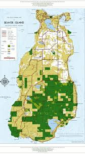 Michigan Trail Maps by Beaver Island Map