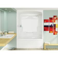 Stall Shower Door by Mirolin Mel3 Melrose 3 One Piece Shower Stall White Home Comfort
