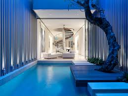 luxury home plans with pools cool small modern house designs and floor plans small houses