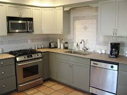 Painting Old Kitchen Cabinets White by Which Paint For Kitchen Cabinets